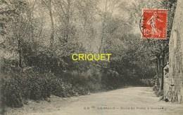 Cpa 62 La Salle, Route Du Portel à Outreau, Affranchie 1909 - France