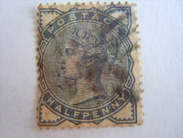 Groot Brittanië Grande-Bretagne Great Britain 1883-84 Victoria Perf. 14 Waterm Crown Yv 76 O - 1840-1901 (Victoria)