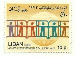 1974 - Libano PA 583 Anno Del Libro C2320, - Pflanzen Und Botanik