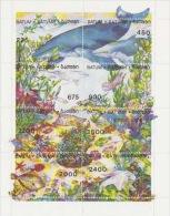 Batum-Fishes Souvenir Sheet  MNH - Fishes