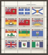 BANDERAS - CANADA 1979 - Yvert #H2 - MNH ** - Sellos