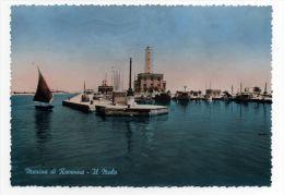 Marina Di Ravenna Il Molo Acquarellata Viaggiata 1959 - Other Cities
