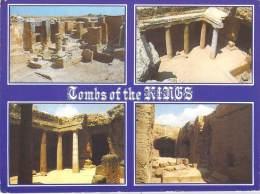 """CHYPRE -CYPRUS Multi Vues  Les Tombeaux Des Rois à Paphos Tombs Of Kings (timbre Stamp """"CYPRUS KIBRIS"""") *PRIX FIXE - Chypre"""