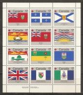 BANDERAS - CANADA 1979 - Yvert #H2 - MNH ** - Timbres