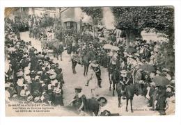 18 - Cher - Saint Martin D ' Auxigny - Les Fêtes Du Comice Agricole -Le Défilé De La Cavalcade - Peu Courante - Autres Communes