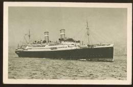 #103 SHIP SCHIFFE NAVI CONTE VERDE LLOYD SABAUDO GENOVA - Dampfer