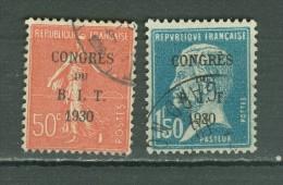 France   264/265    Ob  TB - Gebraucht