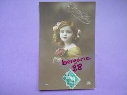 CPA FANTAISIE - Bonne Fête - ENFANT - Fille, Fleurs - N° 1020 - - Bambini
