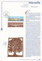 """(Prix à La Poste = 5.00 €) Document Philatélique Officiel De 2002 """" MARSEILLE """" N° YT 3489. - 2000-2009"""