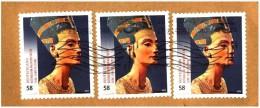 Bund / Germany: 'Nofretete - Selbstklebend, 2013' / 'Nefertiti Bust - Self-adhesion', (VII) Mi. 2994 Oo - [7] République Fédérale