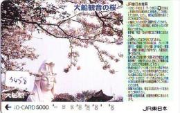 Carte Prépayée  Japon * TRAIN * IO * CARD  (3458) Japan Prepaid Card * ZUG * Karte * TREIN * JR * - Treinen