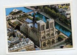 Carte Notre Dame  Flamme Muette Paris Art Metier - Notre Dame De Paris