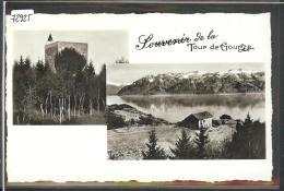 DISTRICT DE LAVAUX /// SOUVENIR DE LA TOUR DE GOURZE - TB - VD Vaud