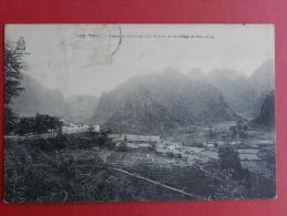 Viet Nam - Région De Caobang - Vue Du Poste Et Du Village De Sioc Giang - Vietnam