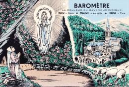 1 Carte Postale De LOURDES Barométre - Lourdes
