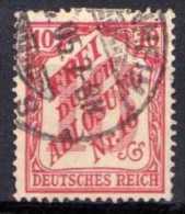 DR Dienstmarken 1905, Mi D 12, Gestempelt [040613VI] @ - Service