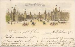 7367 - Exposition Universelle 1900 Paris  Litho - Ausstellungen