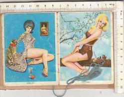 PO9492B# CALENDARIETTO BARBIERE 1963 PIN UP - PINUP (incompleto) - Petit Format : 1961-70