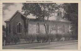 Oklahoma Fort Sill Historic Chapel - Etats-Unis