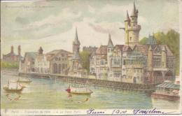 7376 -  Exposition 1900 Le Vieux Paris Regardez Par Transparence  Litho - Ausstellungen