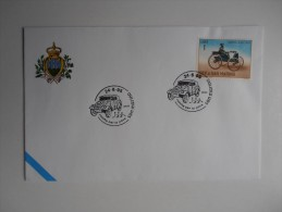 REPUBBLICA DI SAN MARINO FDC - 1 ROCCHE PER LA PACE - Militaria