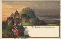 7386 -  Der Hohentwiel Ehemals Und Heute Hadwig Ekkchard Litho - Schlesien