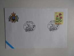 REPUBBLICA DI SAN MARINO FDC - 6 ROCCHE PER LA PACE - Militaria