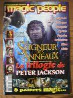 LOTR - MAGAZINE MAGIC PEOPLE HORS-SERIE N° 4 - LE SEIGNEUR DES ANNEAUX - LA TRILOGIE DE PETER JACKSON - JUIN / JUILLET 2 - Revistas