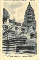 Cambodge - Temple D'Angkor-Vat, Escalier Principal, Exposition Coloniale Internationale Paris 1931 - Cambodia