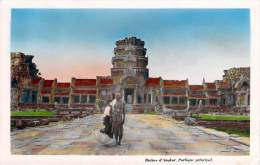 Cambodge - Ruines D'Angkor, Portique Principal - Cambodia