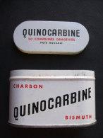BOITE Vide QUINOCARBINE Charbon Bismuth - Laboratoire Emile Charpentier - Scatole