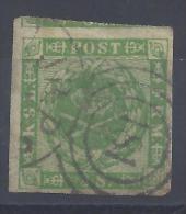 DANEMARK - 1858-63 -  RARE N° 9 - OBLITERE - TB - - 1851-63 (Frederik VII)