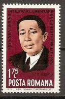 ROMANIA 1974 NICOLAE TITULESCU SC # 2481 MNH - 1948-.... Republiken