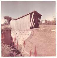 EXTRAÑA CONSTRUCCION  CIRCA DE 1960 URUGUAY  FOTO 9 X 9 CM  COLOR   OHL - Photographs
