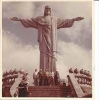 CRISTO REDENTOR  BRASIL  CIRCA DE 1960   FOTO 9 X 9 CM  COLOR   OHL - Places