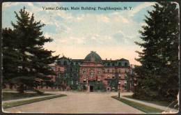 NY POUGHKEEPSIE Vassar College - Main Building 1914 - NY - New York