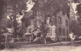 CPA RARE Vémars Val D´ Oise Ferme Des Carneaux Le Pavillon Vers 1925 Animée Etat TTB Non Circulée - France