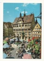 Cp, Allemagne, Tübingen, Markplatz Mit Rathaus, Voyagée 1971 - Tuebingen