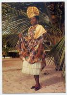 Guadeloupe--écrite De Sainte Rose--Robe Créole--cpm N° S.020 éd Images Caraibe--Belle Carte - Guadeloupe