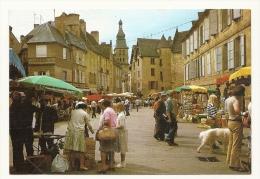 Cp, Commerce, Sarlat (24) - Le Marché, Place De La Liberté, écrite - Marchés