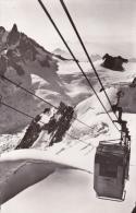 CPA 74 CHAMONIX ,le Télécabine De L´Aiguille Du Midi. - Chamonix-Mont-Blanc