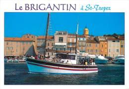 CPSM Le Brigantin à Saint Tropez-Bâteau    L1317 - Saint-Tropez