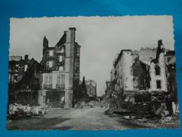 29) Brest - Bombardement 1945 - Grand-format - N° 1 - Place Marcelin-berthelot Et Rue Louis-pasteur  - EDIT - Gaby - Brest