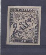 Tahiti - Taxe N° 2 Neuf * - C: 470,00 € - Tahiti (1882-1915)