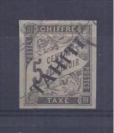 Tahiti - Taxe N° 5 Oblitéré - C: 500,00 € - Oblitérés