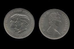 GRANDE - BRETAGNE . 25 PENCE . 1981 . - 1971-… : Monnaies Décimales