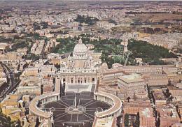 Italy Roma Rome Piazza San Pietro Veduta Aerea