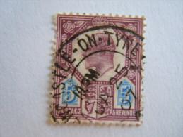 Groot Brittanië Grande-Bretagne Great Britain 1902-10 Edouard Edward VII  Perf.14 Crown Newcastle-on-Tyre Yv 113 O - Gebruikt