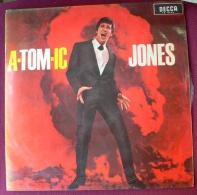 TOM JONES - A-TOM-IC JONES - LP (SEGUNDO LP DE TOM JONES EN SU CARRERA) - Discos De Vinilo