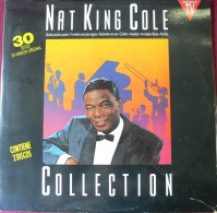 NAT KING COLE  DOBLE (DOUBLE LP) LP  30 CANCIONES - Blues